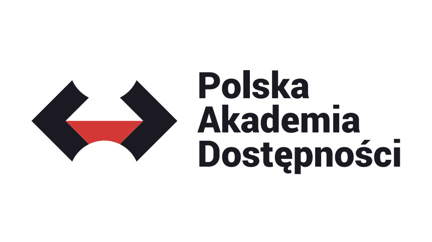 Logo projektu Polska Akademia Dostępności